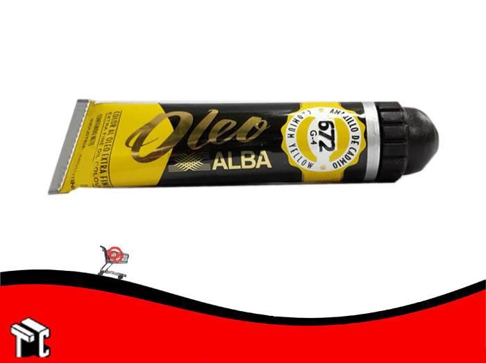 Oleo Alba Amarillo Claro 672 X 60 Ml