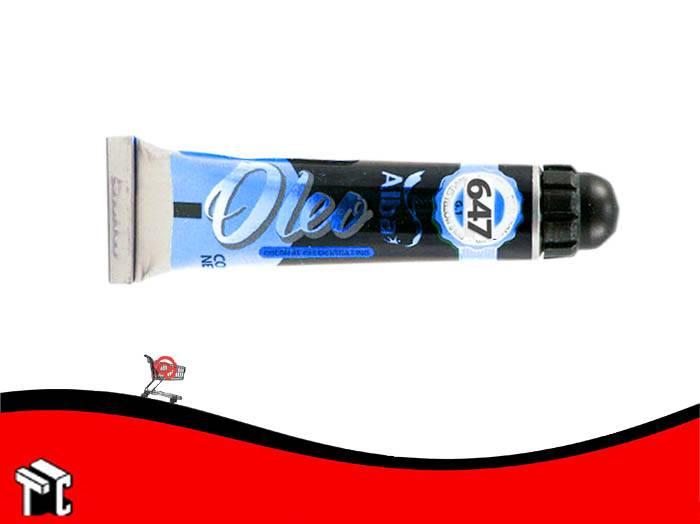 Oleo Alba Azul Ftalo 647 X 60 Ml