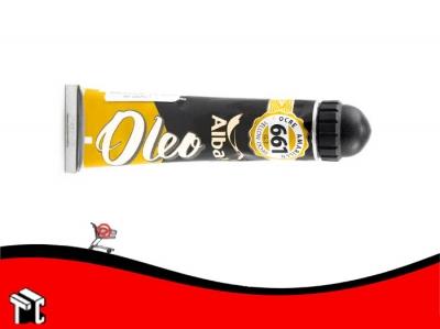 Oleo Alba Ocre Amarillo 661 X 60 Ml