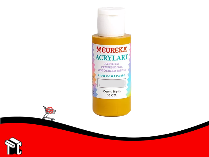 Pintura Decorativa Acrylart X60 Ml Oro Antiguo 66