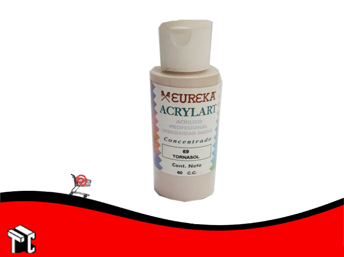 Pintura Decorativa Acrylart X60 Ml Tornasol 69