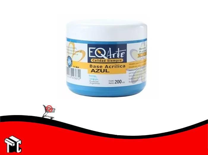Base Acrilica Eq Azul 200 Cc