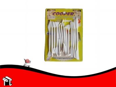 Estecas Plasticas X 14 Ud.