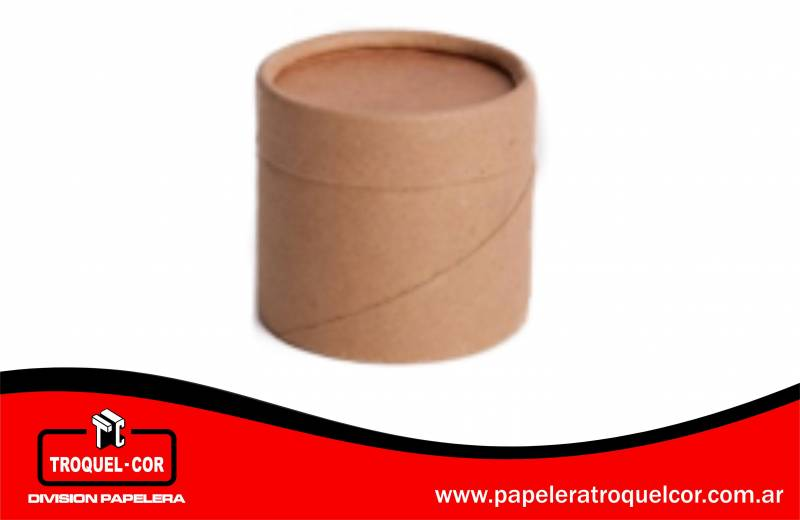 Tarro De Carton 1/2 Kg 8 X 9 Cm