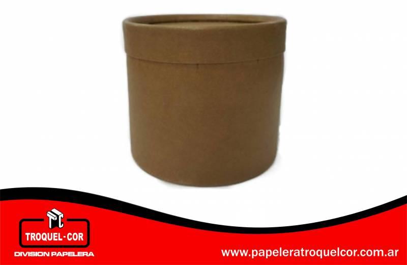 Tarro De Carton 1 Kg 11 X 11 Cm