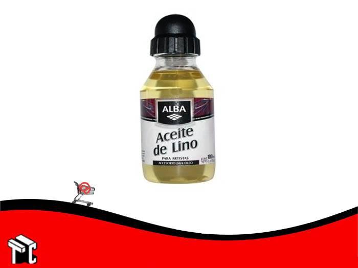 Aceite De Lino Alba X 100 Ml