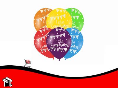 Globo Feliz Cumpleaños X 50 Unidades
