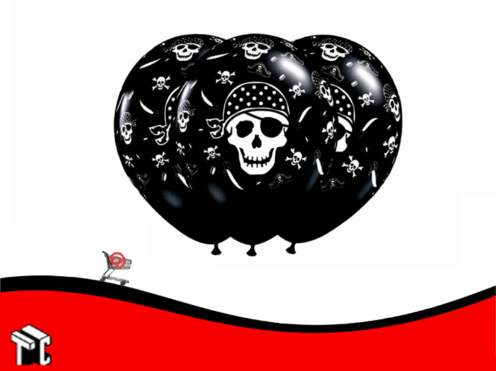 Globo Pirata X 25 Unidades