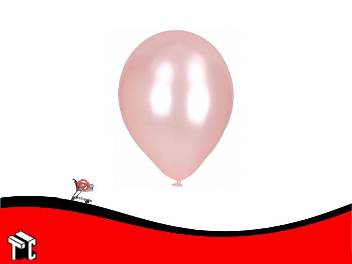 Globo Perlado Rosa X 50 Unidades
