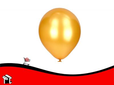 Globo Perlado Dorado X 50 Unidades