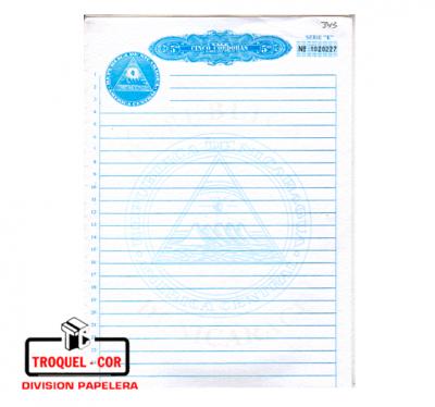 Papel Notarial Rab X 100 Hojas 90gr